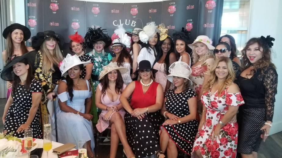 Club Ella's VIP Celebrating Women International  Day Vintage Style